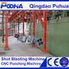 CE Quality Overhead Through Type Steel Casting Shot Blasting Machine