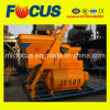 Js500 Twin-Shaft Compulsory Concrete Mixer with Feeding Device