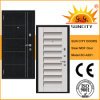 Exterior Safe MDF Steel Wood Armored Door for Outdoor (SC-A201)
