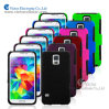 Cell Phone PC+Silicone Cases for Samsung Galaxy S5/I9600