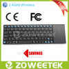 Wirelss Qwerty Keyboard with Zoom & DIP Adjustable Function