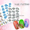 Nail Art, Nail Decal, Nail Sticker, Flower Series Nail Tattoo,