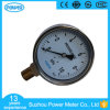 100mm Stainless Steel Brassinternal 10kpa Bellows Pressure Gauge