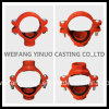 High Standard Cast/Ductile Iron Grooved / Threaded Mechanical Tee -FM/UL Listed