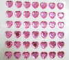 Big Crystal Sticker Heart Shape Stick on Rhinestone Sticker