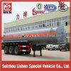 Tri-Axle 25000L Tanker Semitrailer for Corrosive Liquid