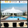 High Peak Aluminum Outdoor Garden Wedding 800 People Clear Span Party European Market 20mx40m Clear Roof Tent