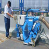 Horizontal Airport Road Cleaning Painting Shot Blasting Machine