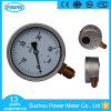 100mm Vibration Resistant Liquid Pressure Gauge of 40 Bar Range