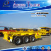 Tri-Axle 40ft Skeleton Container Extendable Semi Truck Trailer