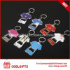Creative Gifts Jersey Shape Stainless Steel Metal Bottle Opener Keychain