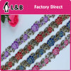 Beatuiful Popular Embroidery Flower Multicolor Lace