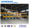 Heavy Duty 80t 4 Axle Cargo Truck Semi Trailer