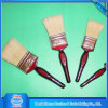 White Bristle Wooden Handle Paint Brush