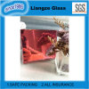 Pink Silver Mirror Decorative Glass