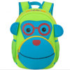 Large Size Children Neoprene Backpack Cartoon Monkey Backpack School Bags