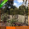 Black Security Steel Tubular Garden Fencing