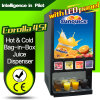 Hot & Top Table Drink Machine Cold Bag-in-Box Juice Dispenser Corolla 4s (with LED panel)