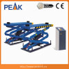 Pit Mounting Double Platform Scissors Lifter for Car