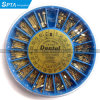 240 PCS Assorted Dental Conical Screw Posts Kits Refills 24k Gold Plated
