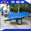 3000kg Durable Hydraulic Dump Farm Trailer with 2-Wheel Reasonable Structure