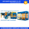 Qt10-15 Fully Automatic Concrete Block Machine Line Brick Making Machine Line
