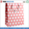 210g Paper Shopping Bag Pink Printed Bag