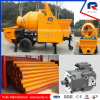 Pully Manufacture Original Rexroth Main Pump Movable Trailer Concrete Pump with Drum Mixer (JBT40-P)