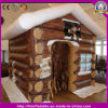 Decoration Christmas Inflatable Santa Castle House for Holiday Event