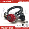 Adjustable 0-20 Psi Lp Gas Regulator with Hose