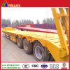2-3 Axles Low Bed Truck with Heavy Duty Loading Capacity