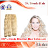 Blonde Brazilian Remy Human Hair Weft (14 inch-Nature wave)