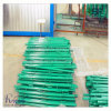 Dark Green Scaffold Guardrail Posts