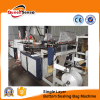 Two Line Cold Cutting Bottom Sealing T-Shirt Bag Making Machine