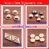 Decor Leather Bags Double Feet Tacks Paper Fasteners