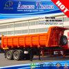 2-Axle U Type Rear Dump Semi Truck Trailer/Tipper Trailer