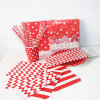 Colorful Paper Napkin Straw Bag with Different Designs for Party