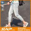 Custom High Quality Cotton Men′s Basic Denim Ninth Jeans
