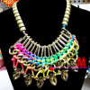 Gold Plated Chain Necklace, Chain Fashion Jewelry Set (BDF91237)