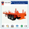 3 Axle Side Wall Semi Trailer for Transport Wood of 50tons