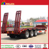 3 Axles Low Bed Trailer for Excavator Transportation