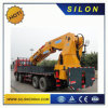 6.3ton Truck Mounted Crane Sq6.3zk3q with Flodable Boom