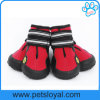 Manufacturer Anti-Slip Water Resistant Sole Pet Accessories Dog Shoes