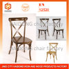 Wood Cross Back Chair for Wedding and Party