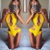 2017 New Ladies One-Piece Sexy Swimwear