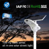Smart Light All in One Solar Sensor Light LED Street Garden Lighting with Solar Panel