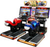 Stimulating Video Games Racing Game Machine Type Attack Moto for Two Players