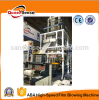 ABA Film Blowing Machine for HDPE LDPE PE Plastic Film