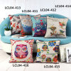 Retro Birds Printed Cushion Digital Printed Cushion Pillow (LCL04-411)