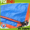 Orange/Blue Heavy Duty PE Tarpaulin
